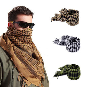 Arabian Tactical Hunting Bufanda Airsoft Sniper Face velo Multi prupose Senderismo Camping bufandas 110 * 110 cm