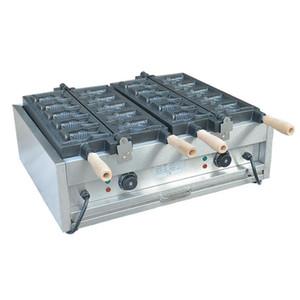 Küçük ticari ticari mini dondurma koni makinesi / elektrikli dondurma taiyaki yapma makinesi fiyat