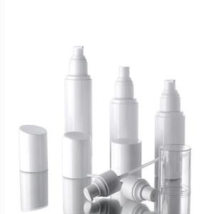 30ml 50ml 60ml 100ml Wasserflaschensprayflaschen Emulsionsflasche HAUSTIER weißes Plastikpumpenflaschenverpacken schnelles Verschiffen