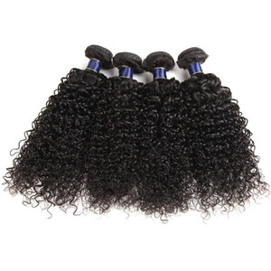 Cheap 7A Unprocessed Brazilian Virgin JERRY Curly Hair Weft Wholesale Peruvian Indian Malaysian Human Hair Weaves 4pcs Lot By Best Chengzhi
