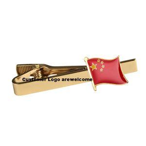 Çin Ulusal Bayrak Kravat İğnesi