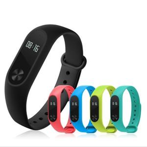 Akıllı Bilezik M2CD Su Geçirmez Spor Bileklik Kalp Hızı Hatırlatma ile Uyku Moniter Bluetooth Spor Izci OLED Touchpad