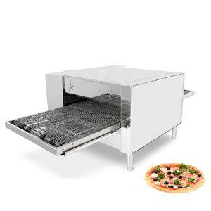 Ekmek ekipman için BEIJAMEI Ticari konveyör Elektrikli Pizza Fırını Fiyat / elektrikli pizza Yapımı Makinesi Pizza yapımcısı