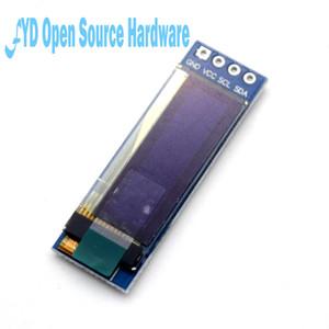 "1 adet 0.91 inç 128x32 I2C IIC Seri OLED LCD Ekran Modülü 0.91 ""12832 SSD1306 LCD Ekran Arduino veya Ahududu Pi için 3"
