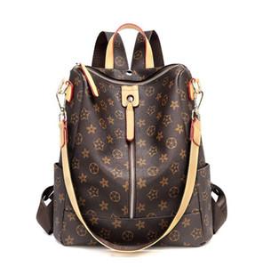 Sıcak bayanlar moda sırt çantası baskı tek çekme sırt çantası seyahat açık çanta çok çanta büyük kapasiteli banliyö çanta ücretsiz kargo