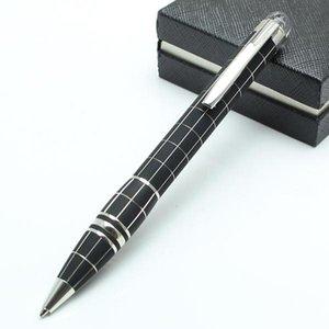 6 stili di lusso resina o matel penna a sfera monte penna moda cancelleria scuola forniture per ufficio scrittura penna di marca
