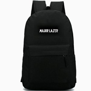Майор Lazer рюкзак Jillionaire опереться на рюкзак топ DJ музыка школьный прохладный значок рюкзак Спорт школьная сумка Открытый день пакет