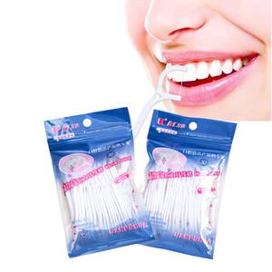 30pcs / pack / set 치과 flosser 치간개 브러쉬 이빨 스틱 이쑤시개 floss 플라스틱 치아 추천 나일론 와이어 치실