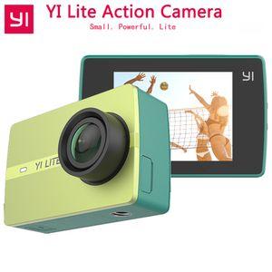 Original YI Lite Action Kamera 16MP Real 4 Karat Sport Kamera mit Eingebautem WIFI 2 Zoll LCD-Bildschirm 150 Grad Weitwinkelobjektiv
