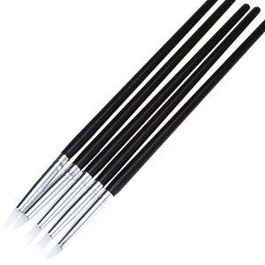5 шт./компл. Multi функция Pen DIY искусства инструменты питания Белый силиконовые резиновые формирователи полимерная глина скульптура Fimo моделирования инструменты