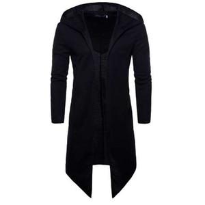 Nouveau manteau de mode de Kiby hommes sobretudo manteau trench manteau à manches longues manteau mâle manteau Outwear long streetwear