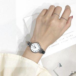 Ulzzang fashion  women watch female school students simple trend retro small fresh college wind wild casual ins clock