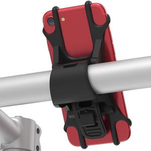 1 pc Bébé Poussette Accessoires Téléphone portable Titulaire Réglable Mobile Téléphone Stander Support Buggy Accessoires Rouge Noir