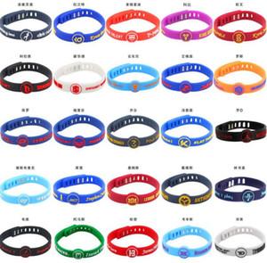 équipe de basket-ball All Star Bracelet en silicone Bracelet Bracelet en caoutchouc
