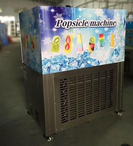 Máquina de picolé máquina de gelo picolé máquina de gelo comercial elétrica vara picolé máquina com 40 pçs / set molde 110 v / 220 v frete grátis
