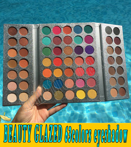 Gute Qualität! Beauty Glazed Make-up Gorgeous Me Lidschatten-Palette 63 Farben Make-up-Palette Charming Eyeshadow Pigmented Eye Shadow Powder