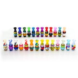 Colorido acrílico 510 Drip Tips EGO Cartomizer Boquilla Calabash Drip Tips para EGO E Cigarette Cartomizer