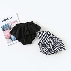 3 Цвет INS новый ребенок детская одежда летняя девушка короткие горошек плед шорты сладкие брюки девочка одежда