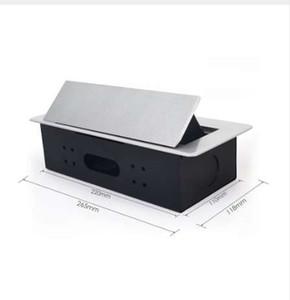 Presa di corrente Scrivania multifunzionale Scrivania multifunzionale da tavolo Presa pop-up a tre inserti Presa AC110V ~ 220V 12A