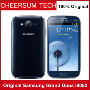 Оригинальный Samsung Galaxy Гранд дуэты I9082 Мобильный телефон GSM 3G WIFI GPS Две сим-карты 8MP камеры разблокирована телефон Восстановленное сотовый телефон