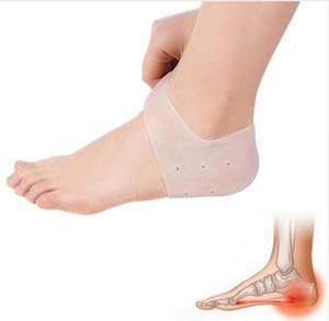 Gel Heel Sleeves Hidratante Gel Heel Protect Calcetines Dry Cracked Foot Mangas Heel Repair Pad Alivio para el dolor Gel de sílice Foot Cuidado de la piel