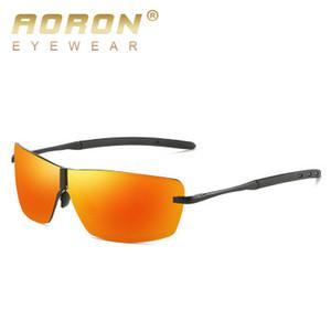 Gafas de sol polarizadas coloridas de los hombres al por mayor las gafas de sol nuevas del estilo que conducen los vidrios A533 envían directamente de la fábrica china