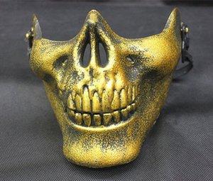 Cosplay Party Field Mask Nighclub Half a Gesicht Halloween Outdoor of Products Terror Schutz Horror Maske Schädel NOXQB