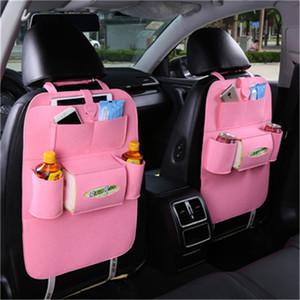 Assento 2PCS / SET Car Bag Universal Box Back Seat Bag Organizador Backseat Titular Pockets Car-styling Protector Auto Acessórios