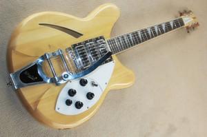 Modell 370 drei halbhohle Akustikgitarren mit großer Rocker Neck Klemmung