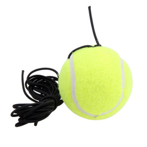 New Rubber Woolen Trainer Tennis Ball With String Replacement For Single Practice Training