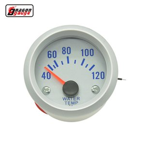 2 inch car motorcycle 12V battery White Light Water temperaturer Gauge water temp meter Auto gauge Car modification