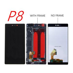 "Huawei P8 LCD Ekran Dokunmatik Ekran Digitizer Meclisi Için Çerçeve Değiştirme Ile 5.2 ""Huawei P8 LCD Sreen"