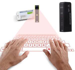 Teclado virtual do laser de Bluetooth da projeção sem fio do laser para o portátil da tabuleta dos telefones do IOS do andróide