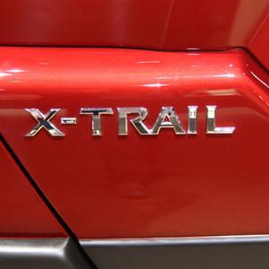 Chrome Glassy ABS Abzeichen Emblem Aufkleber Für Nissan X Trail Xtrail Hinten Schwanz Trunk Logo Marke Abzeichen Emblem Sitker