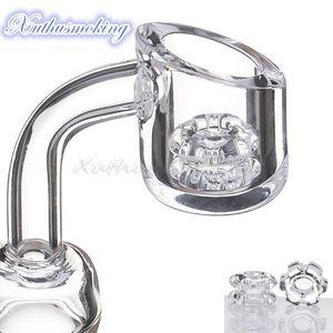 New Diamond Knot quartz banger nail bucket domeless male female 90 45 degree for glass water bong 696