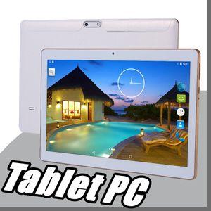 """9.6 pouces 10 """"Tablette PC MTK8382 MTK6592 Octa Core Android 6.0 4GB 64GB Phable Écran GPS 3G Téléphone Coque Clavier Couverture E-9PB"""