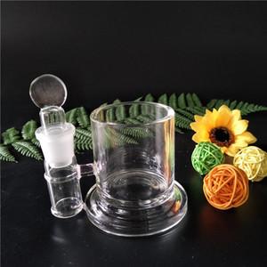 NOVA alta qualidade Q-Tip ISO jar Qtip iso recipiente de vidro bongo recipiente de vidro de armazenamento de óleo bongos de limpeza (IS-002)