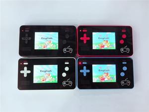 Novo 2.5 '' LCD Retro Handheld Game Player com Banco de Banco de Potência Móvel 5000mAh Portátil Video Game Console 188 Jogos Clássicos com Caixa De Varejo
