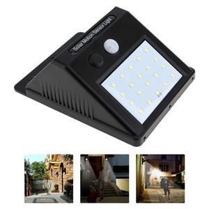 Heißer Verkauf 20 LED Solarbewegungs-Sensor-Wandlichter im Freien Hof-Zaun-Hotel-Landhaus-Sicherheitswand beleuchtet 20Pcs freies Verschiffen DHL