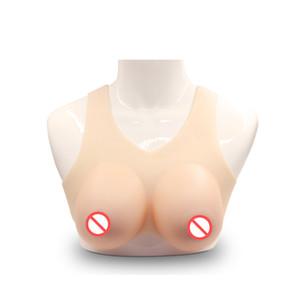 Бесплатная доставка новейший продукт косплей поддельные груди псевдоним большой Силиконовый моделирование мужская сиамские CD платье 900-1600g / пара
