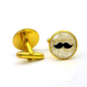 европейские и американские ювелирные изделия Черная Борода время драгоценный камень запонки французский запонки галстук клип набор рукав кнопка запонки Бесплатная доставка