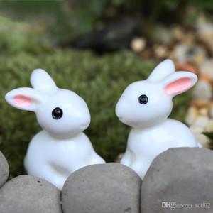 Moss Micro Landscape Ornament Cute Aminal Rabbit Resin Arti e Mestieri Fata Pasqua Decorazioni da giardino Easy Carry 0 22dd CB