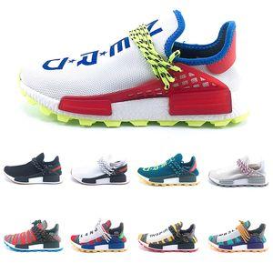Course humaine Designer Trail solaire Afro Pack Chaussures de course Hommes Femmes Ballot Pharrell Williams HU SOLARHU Sportif Sneaker Discount en ligne