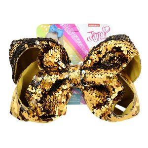 8Inch JOJO Sequins Hair Clip Bows Hair Bow 9 Colors for Choice Girls Hairpins Kids Children Hair Accessory Toddler Headwear Christmas Gift