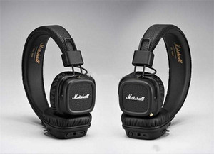 Nuevo Marshall Major II 2.0 Bluetooth Auriculares inalámbricos DJ Studio Beat Headphone Deep Super Bass Auriculares con aislamiento de ruido para iPhone Samsung M