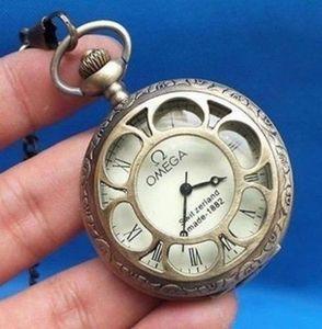 Scultura in bronzo meccanica un vecchio orologio da tasca
