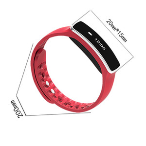 Luxury V6 Smart Watch Sleep Sports Fitness Activity Tracker Smart Wrist Band Pedometer Bracelet Watch For Android  IOS