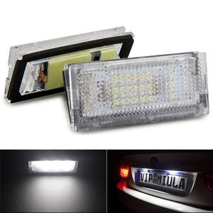 6000K Белый 18 LED освещение номерного знака лампы в сборе набор для BMW 3 серии E46 4D 1998-2003