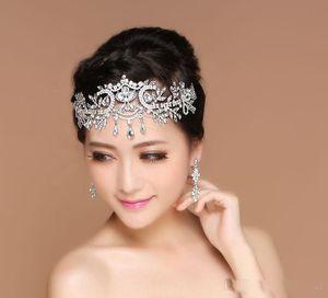 vendita calda bling bling nozze gioiello gioiello in rilievo di cristallo copricapo strass fascinator spedizione gratuita partito accessori da sposa