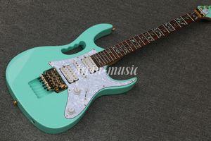 Em estoque, Atacado de Alta Qualidade JEM 7 V verde e branco Guitarra Elétrica, Frete grátis,